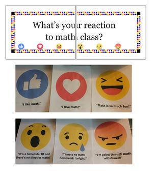 """Social Media """"Reaction"""" Signs"""