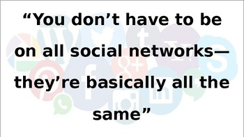 Social Media - Relationships, Identity and Self