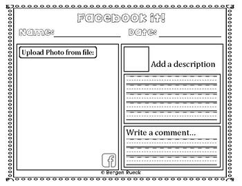 Social Media Response Worksheets {Sample Freebie!!}