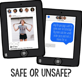 Social Media Safety Classroom Guidance Lesson for School Counseling