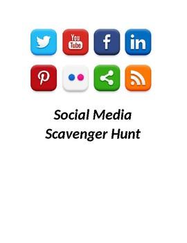 Social Media Scavenger Hunt