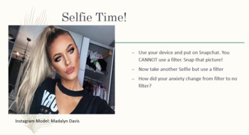 Social Media & Self Esteem Lesson Plan