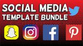 Social Media Template Bundle (Editable in Google Slides) D