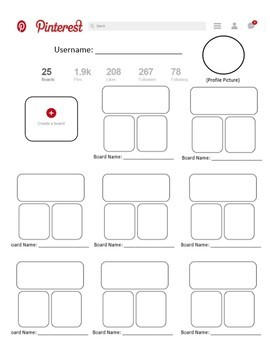 Social Media Template Packet (Facebook, Twitter, Instagram, Snapchat, Pinterest)