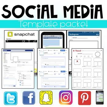 Social Media Template Packet (Facebook, Twitter, Instagram