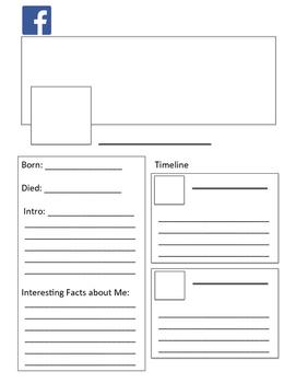 Social Media Template Worksheets
