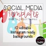 Social Media Templates-Back to School IG