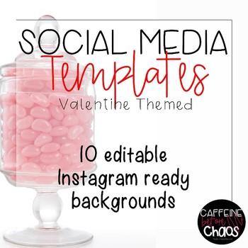 Social Media Templates-Valentine's Day IG