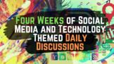 Social Media Themed Bell Ringer Questions: 4 Week Unit