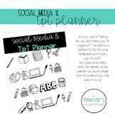 Social Media & TpT Planner