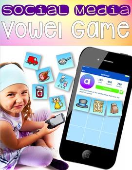 Social Media Vowel Sound Game