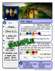 Super FUN comprehension activity to use with ANY NOVEL or short story! NO PREP!