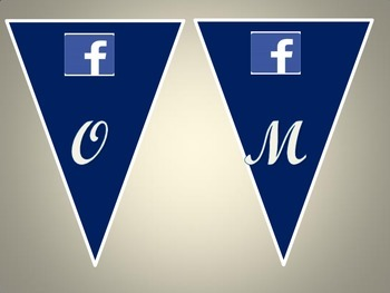 Social Media Welcome Bunting