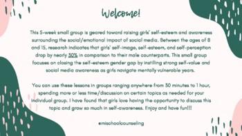Social Media and Self-Esteem Small Group
