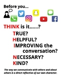 Social Media and Teen Think Poster