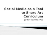 Social Media as a Tool to Share Art Curriculum