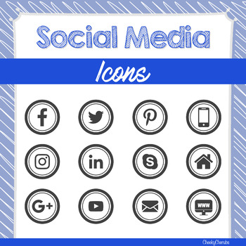 Social Media - icons