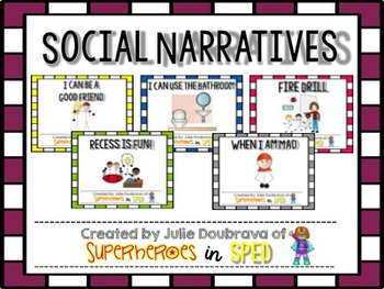 Social Narrative Bundle (Growing Bundle)