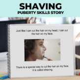 Social Narrative: Editable: Shaving (Boys)