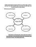 Social Narrative- How to use a graphic organizer *Autism*