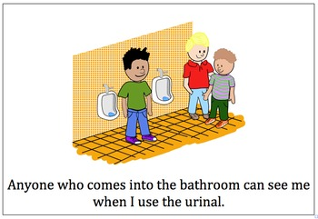 Social Narrative:  How to use the Urinal