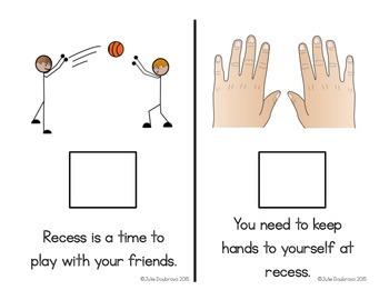 Social Narrative- Recess is fun!