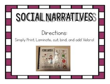 Social Narrative- When I am in Art