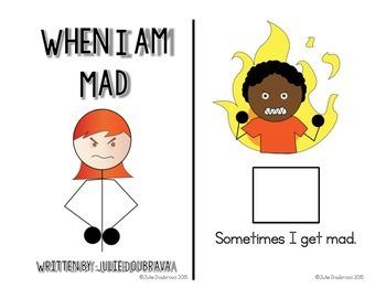 Social Narrative- When I get Mad