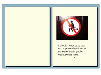 Social Narrative-a story about passing gas