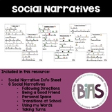 Social Narratives/Stories for School Behavior