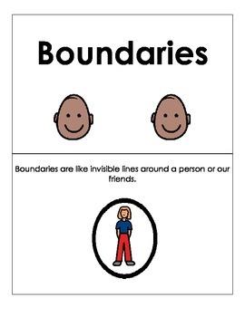 Social Narratives Boundaries- *Autism*