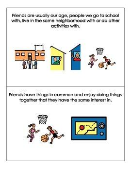 Social Narratives-Friendship Bundle *Autism*