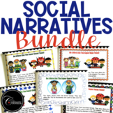 Social Narratives & Power Cards BUNDLE: Superhero Theme #c