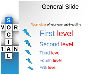Social Network PPT Template