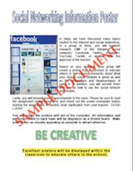 Social Network Poster Activity