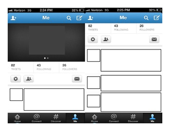 Social Networking in 140 characters Template