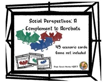Social Perspective Companion to Acrobats Game