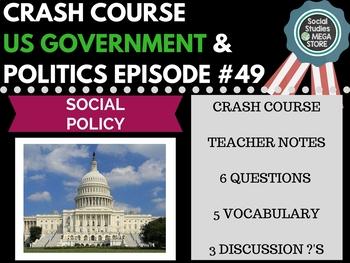 Social Policy: Crash Course Government and Politics #49