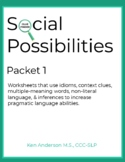 Pragmatics, Social Possibilities Packet 1