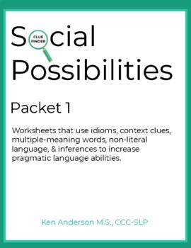Pragmatics, Social Possibilities Packet 1
