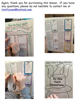 Social Pragmatic Lessons, Activities & Scenarios for Teens Holiday & New Year