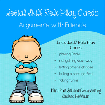Social Problem Solving ~ Arguments with Friends ~ Role Plays