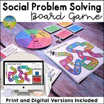 Social Problem Solving Board Game