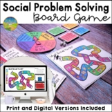 Social Problem Solving Board Game