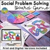 Social Problem Solving Board Game - Digital & Print for Distance Learning