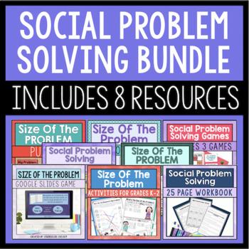 Social Problem Solving Bundle {Save 20%!}