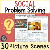 Social Problem Solving Printable Worksheets Low Prep Speec