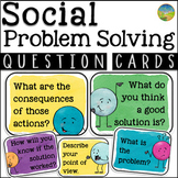 Social Problem Solving Question Cards