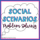 Social Scenarios Problem Solving REAL LIFE Pictures