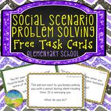 Free Social Problem Solving Task Cards